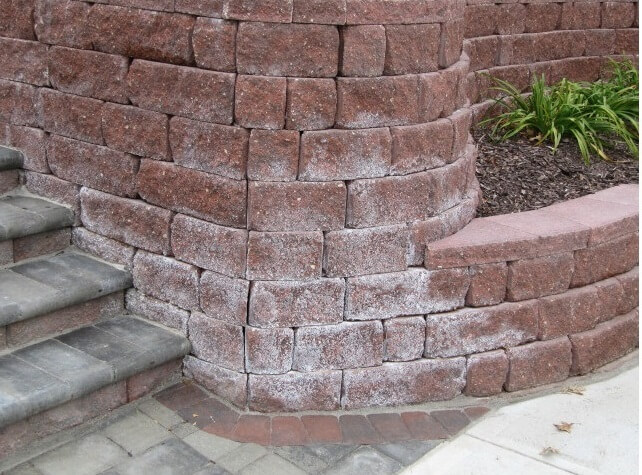 Efflorescence - Colored Dry Stack Block