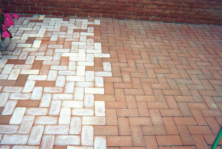 Efflorescence(Calcium Chloride) - Pavers